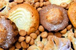 Koekjes en gebakjes Stock Afbeeldingen