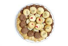 Koekjes en koekjes Royalty-vrije Stock Foto