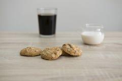 Koekjes en koffie Stock Afbeelding