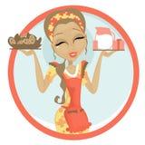 Koekjes en Melk vector illustratie