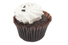 Koekjes en Room Cupcake Stock Foto