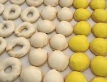 Koekjes & Suikerglazuur Stock Foto's