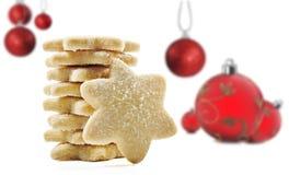 Koekjes voor Kerstmis Stock Fotografie