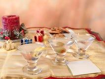 Koekjes voor santa Stock Foto
