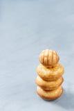 Koekjeskoekjes in de vorm van een toren Royalty-vrije Stock Afbeelding