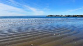 KoeKohe beach at Otaga New Zealand Royalty Free Stock Images