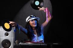 Koel DJ royalty-vrije stock foto's