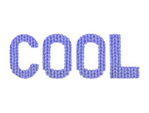 koel Donkerblauwe kleur stock foto