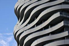 Koel Flatgebouw Stock Foto's