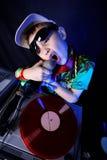 Koel jong geitje DJ Royalty-vrije Stock Foto