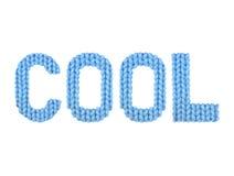 koel Kleurenblauw Stock Afbeelding