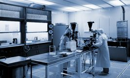Koel Laboratorium Royalty-vrije Stock Afbeelding
