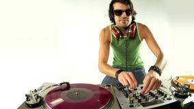Koel mannelijk DJ