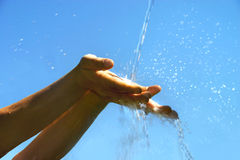 Koel zoet water Royalty-vrije Stock Foto's