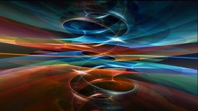 Koele abstracte achtergrond Stock Foto