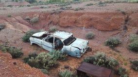 Koele auto oude auto Stock Afbeeldingen