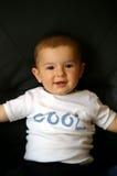 Koele baby royalty-vrije stock afbeeldingen