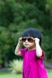 Koele baby Royalty-vrije Stock Foto's