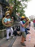 Koele band Brussel stock afbeelding