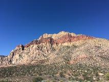 Koele berg met een koele kleur op het Stock Foto