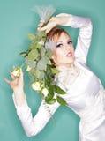 Koele bruid Royalty-vrije Stock Afbeeldingen