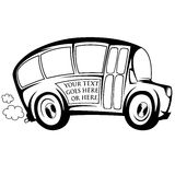 Koele bus Stock Afbeelding