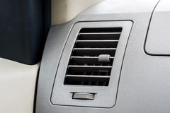 Koele de auto van de autoairconditioning Stock Foto