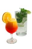 Koele drankmahito en cocktail Stock Foto