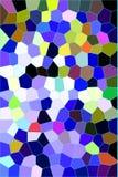 Koele gebrandschilderd glasachtergrond Royalty-vrije Stock Afbeelding