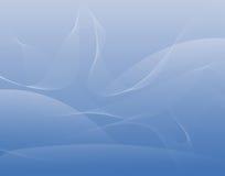 Koele golven Royalty-vrije Stock Fotografie