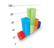 Koele grafiek stock illustratie