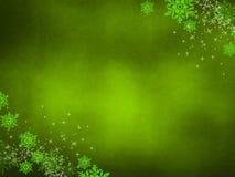 Koele groene achtergrond Stock Afbeelding
