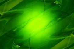 Koele Groene Achtergrond Royalty-vrije Stock Afbeelding
