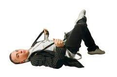 Koele heup-hop jonge mens Royalty-vrije Stock Afbeeldingen