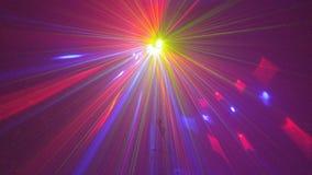 Koele laserlichten Royalty-vrije Stock Foto's