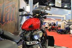 Koele nieuwe motorfiets royalty-vrije stock fotografie