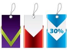 Koele ontwerp het winkelen etiketten Royalty-vrije Stock Afbeelding