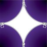 Koele ritssluitingsachtergrond Royalty-vrije Stock Afbeeldingen