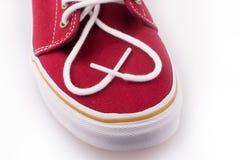 Koele rode schoen Royalty-vrije Stock Afbeeldingen