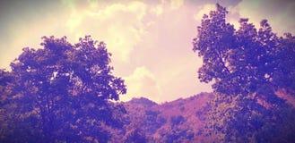 Koele schoten, klimaat, weer; wolken, kaarsen stock foto's