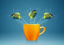 Koele Vissen stock afbeelding