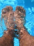 Koele voeten Stock Afbeelding