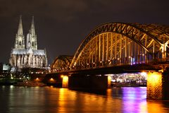 Koeln bridge Royalty Free Stock Photography