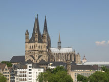 Koeln panorama Royalty Free Stock Images