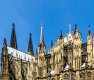 Koeln Dom. Koelner Dom (Cologne Cathedral) in Koelne, Germany Royalty Free Stock Photography
