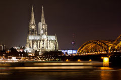 Koelner-dom Tyskland Royaltyfria Bilder