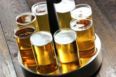 Koelsch - specialty beer from Cologne Royalty Free Stock Photos