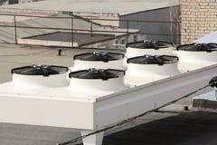 Koelsysteem voor ventilatie en airconditioning royalty-vrije stock afbeelding