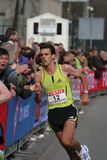 Koen Raymaekers. At the City Pier City Loop 2008 (half marathon).  finished as second Dutch royalty free stock images