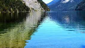 Koenig see Germany. Bayern Water stock images